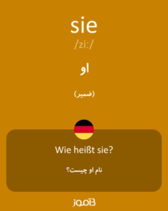 تصویر معنی و ترجمه لغت sehen -