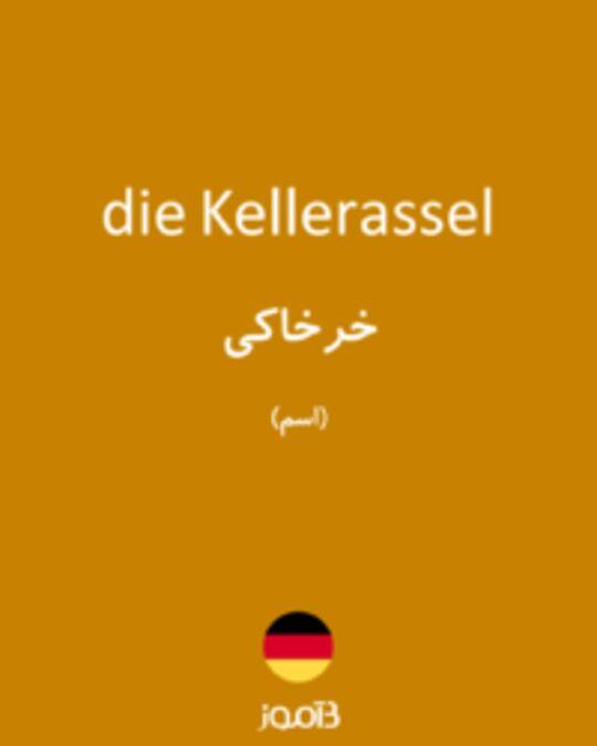 تصویر die Kellerassel - دیکشنری انگلیسی بیاموز
