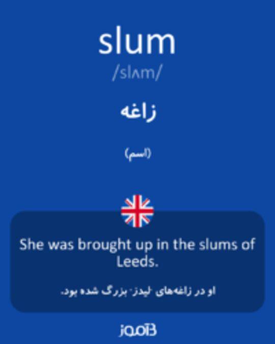 تصویر slum - دیکشنری انگلیسی بیاموز